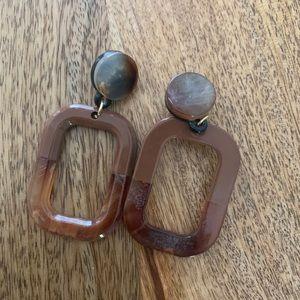 Brown Earrings ✨